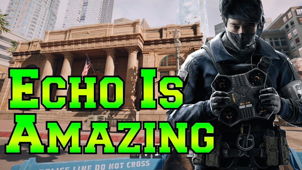 Echo is a god ranked highlights rainbow six siege youtube solutioingenieria Images