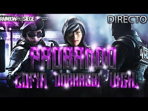 PROBANDO LOS NUEVOS AGENTES! DOKKAEBI VIGIL ZOFIA - WHITE NOISE - Rainbow Six Siege Directo Español
