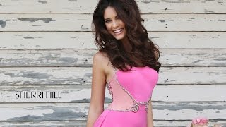 Sherri Hill 8558 Pink Prom Dress