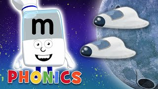 Phonics - Learn to Read | M is for March! | Alphablocks