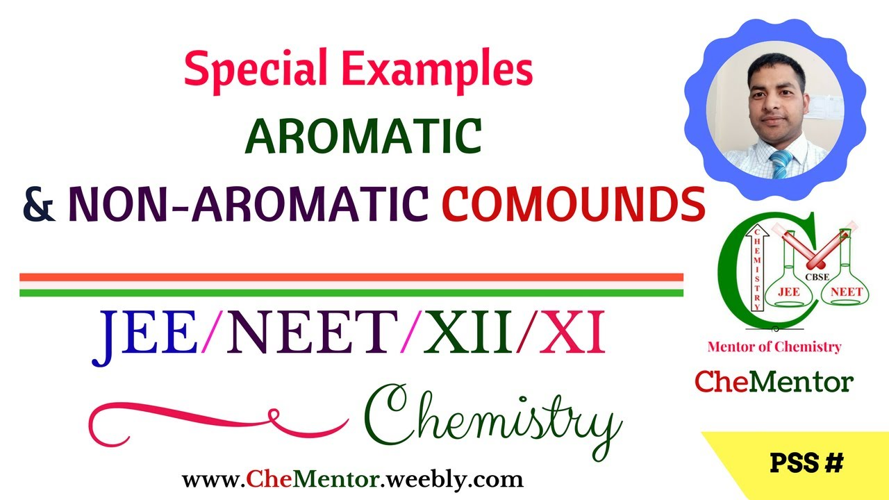 Special Examples of Aromatic & Non-Aromatic compounds I JEE/NEET Chemistry