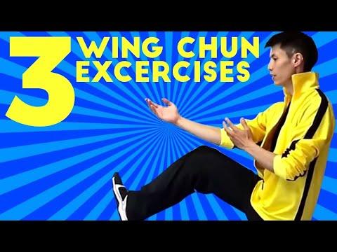 3 Basic Wing Chun Training Workout...