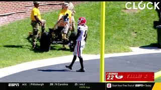 Riley Ridley vs Missouri 2018