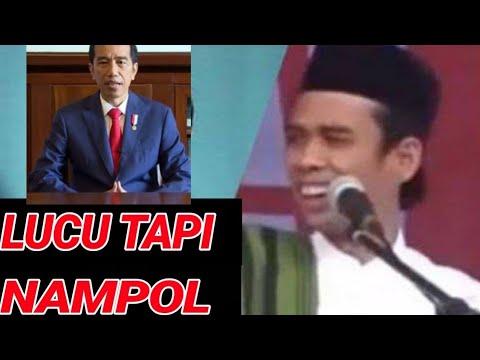 LUCU;VIDEO JOKOWI DAN UAS DIGABUNG BEGINI JADINYA;SOAL SAYA INDONESIA;PILPRES 2019;PRABOWO SANDIAGA;