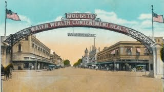 The Modesto Arch Restoration Project - Modesto, California (New Modesto Arch)
