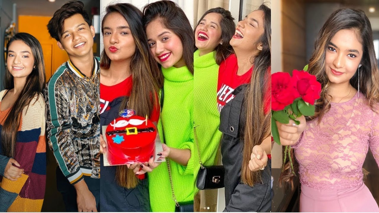 Happy B'day Anushka Sen Tiktok Videos With Riyaz, Jannat