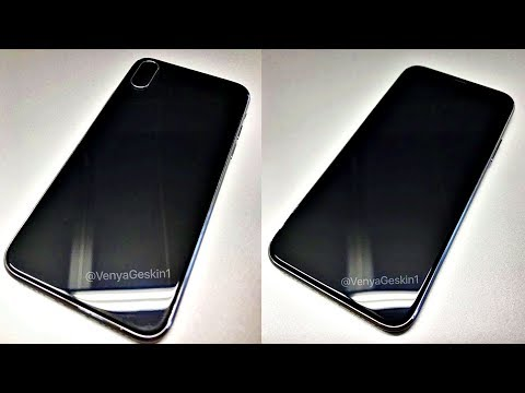iPhone 8 LIVE Hands On VIDEO!!!