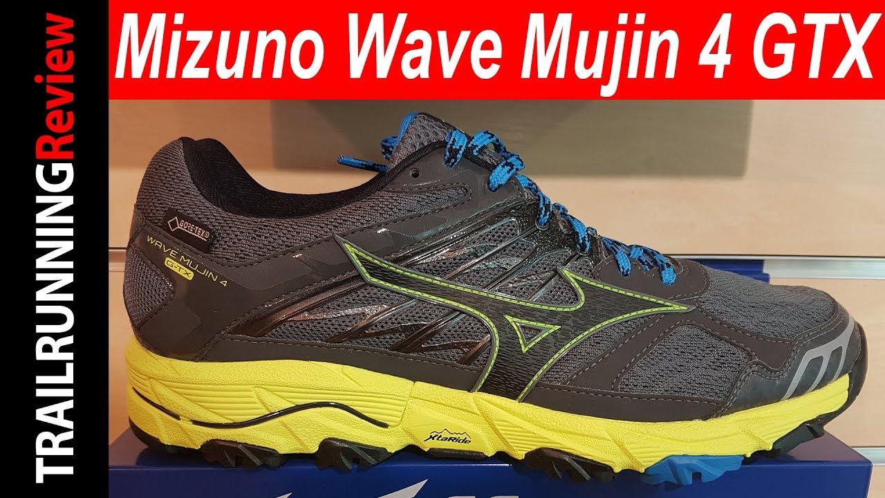 Mizuno Wave Mujin 4 GTX Preview - YouTube 0b10e17ff79