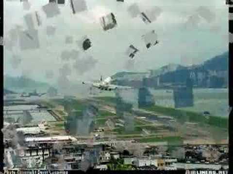 Hong Kong Landing - YouTube