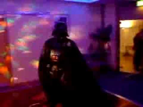 Darth Galer & The Emperor Chris letting off steam!