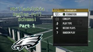 FULL OFFENSIVE SCHEME PART 1 | Madden NFL 18 | 100 Subscriber Special!
