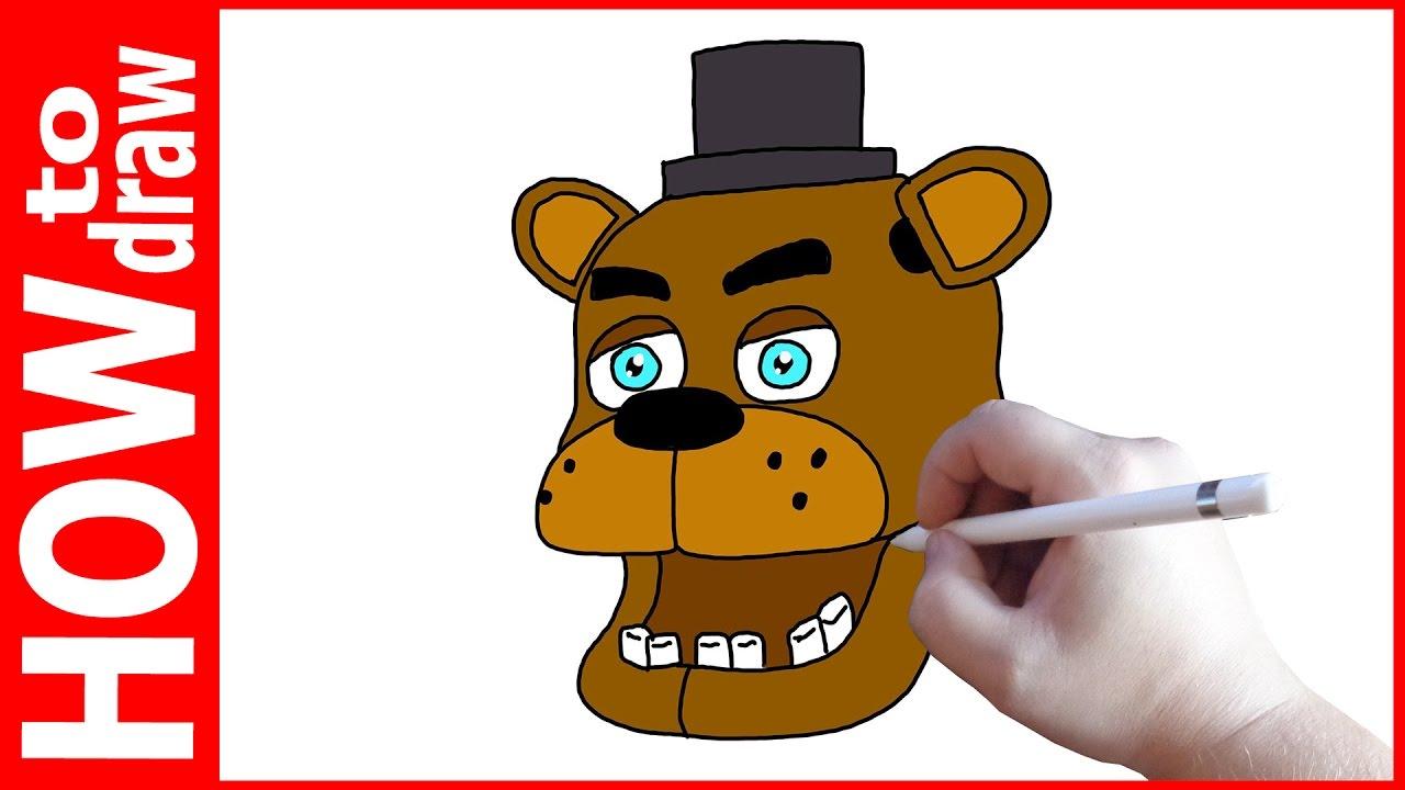 картинки как нарисовать фредди