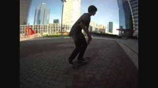 La défense skate