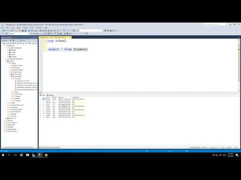 How To Select Data From The Table With SQL Script | Microsoft SQL Server 2017 For Everyone