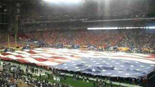 "Eagle ""Challenger"" Flies At Fiesta Bowl Jan 4, 2010 (AEF)"