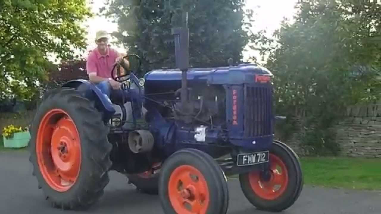 1947 fordson major tractor e27n