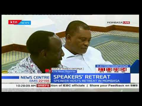 Speakers' retreat beginning today in Mombasa