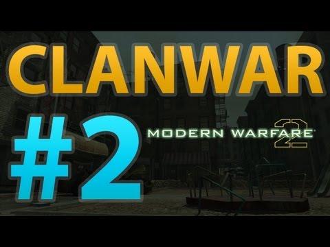 Modern Warfare 2 - Clanwar #2 | [GEA] vs [rG]