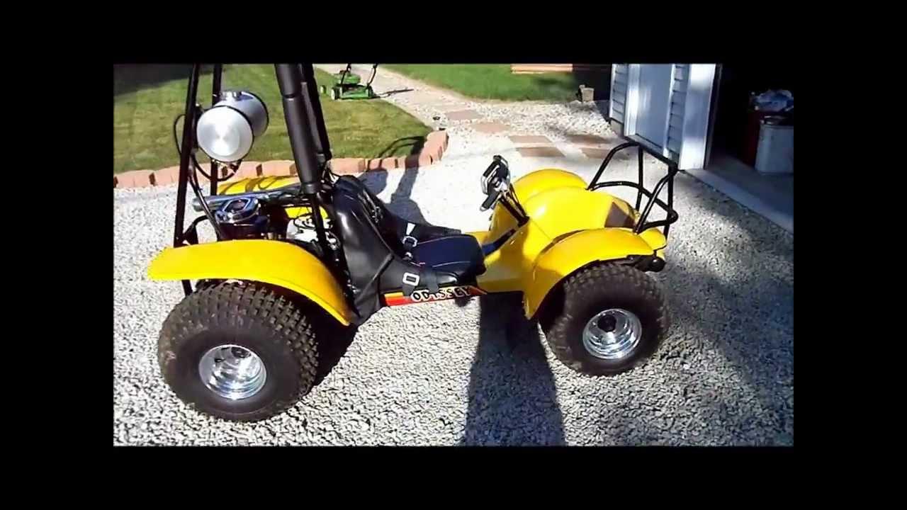 Honda Odyssey FL250 Restoration - YouTube