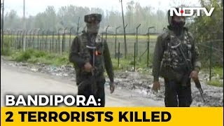 2 Terrorists Killed In Jammu And Kashmir