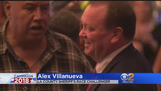 With Votes Left To Count, Could L.A. County Sheriff McDonnell Be Unseated By Villanueva?