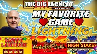 I ❤️4 BIG JACKPOT$ on My FAVORITE GAME! ⚡LIGHTNING LINK ⚡PAY$ HUGE!