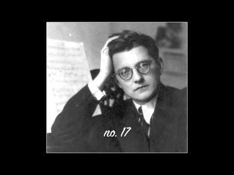 Yevgeny Sudbin plays Shostakovich Preludes Op. 34 Nos 6, 2, 17, 24
