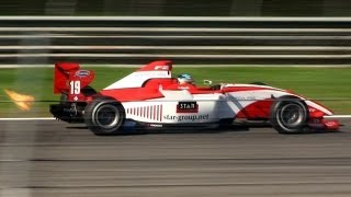 FIA Formula Two (F2) 2012 SOUND w/ Flames & Backfires