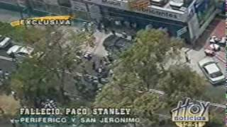Cobertura de muerte de Paco Stanley en vivo Televisa y tv Azteca