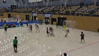 2018IH ハンドボール 女子 準々決勝 洛北(京都府)対 浦添商(沖縄県)