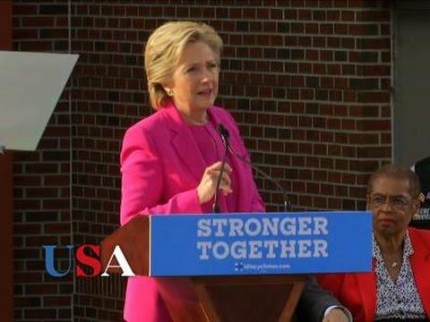 Clinton Links Trump to White Supremacists | USA Election News 2016