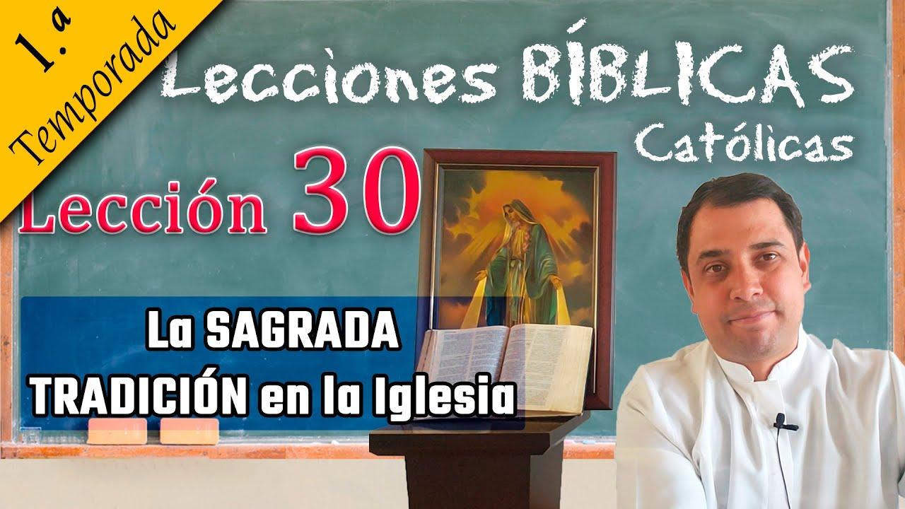 ✅ LA SAGRADA TRADICIÓN en la Iglesia? - 📚 Lecciones Bíblicas - Padre Arturo Cornejo ✔️