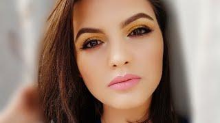 Evening makeup with glitter : Make Up Tutorial