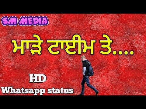 Time-  New Whatsapp Status SM MEDIA
