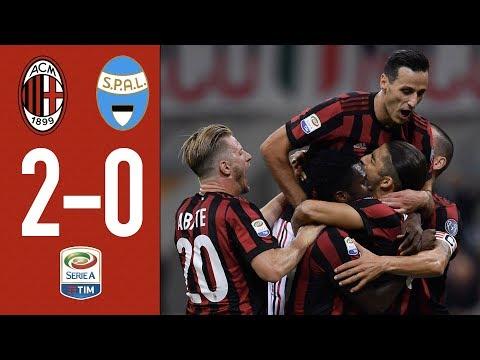 One goal per each half at San Siro: AC Milan-Spal 2-0