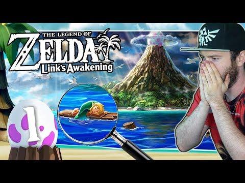 THE LEGEND OF ZELDA LINK'S AWAKENING 🗡️ #1: Gestrandet auf der Insel Cocolint