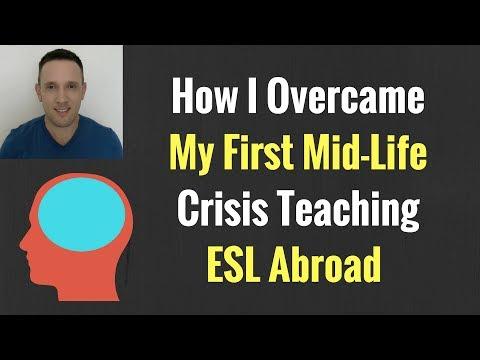 How I Overcame My First Mid-Life Crisis Teaching ESL Abroad   English Teacher Jobs Overseas