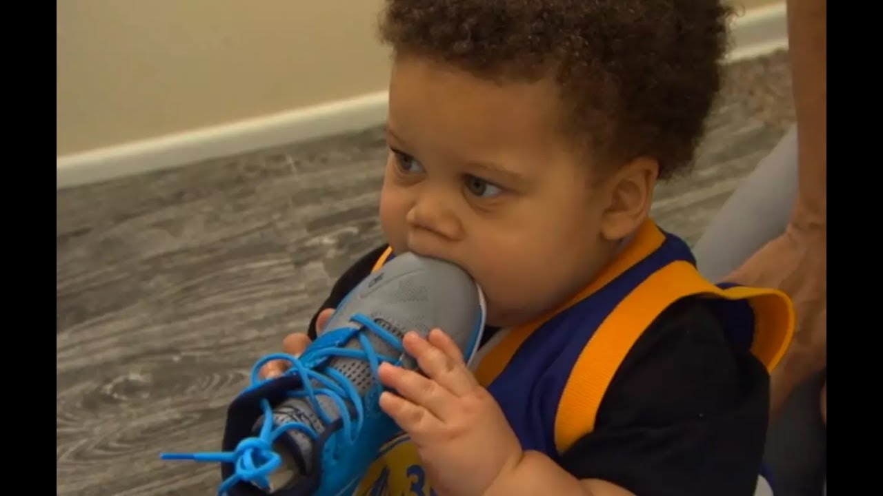 Baby Steph Curry Releases New Shoes