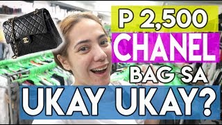 MAMILI TAYO SA UKAY UKAY! UKAY UKAY BEST FINDS! (MAY CHANEL TE! ) | Nina Rayos 💋