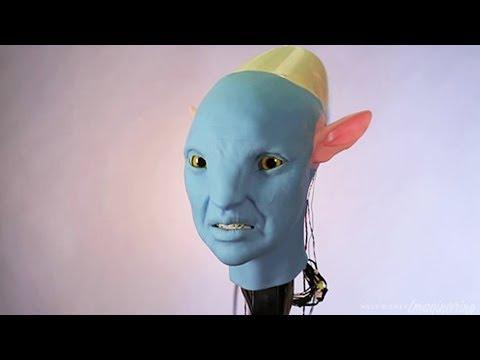 Na'vi Shaman, Disney's  Highly Expressive Humanoid Alien Robot