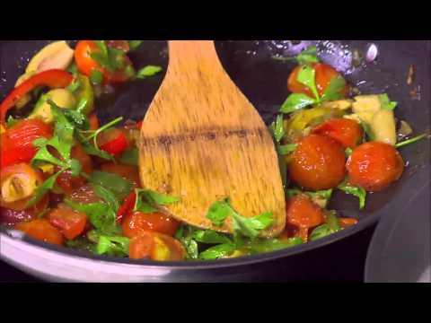 سمك فيليه بالزيتون والطماطم - مكرونة بالتونة والبيستو : شبكة وصنارة حلقة كاملة