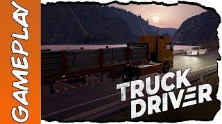 Veja a primeira estrada de terra do jogo Truck Driver (PS4,Xbox One e PC)