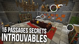 15 PASSAGES SECRETS INTROUVABLES !