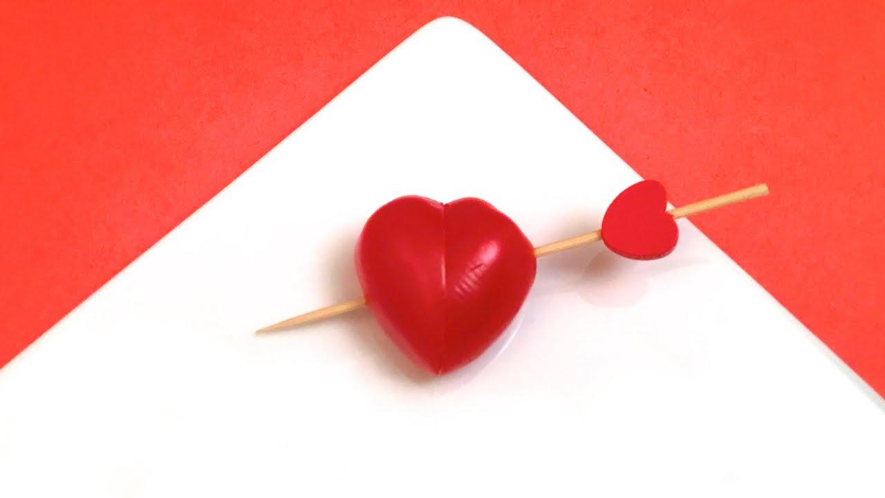 Comment faire un coeur en tomate hd youtube - Comment fabriquer un coeur ...