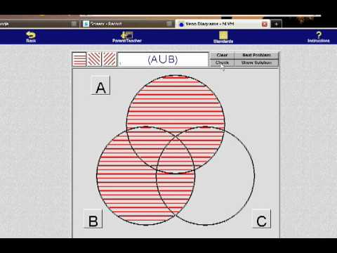 Sets - union, intersection, and complements - YouTube Y Intersection Sign