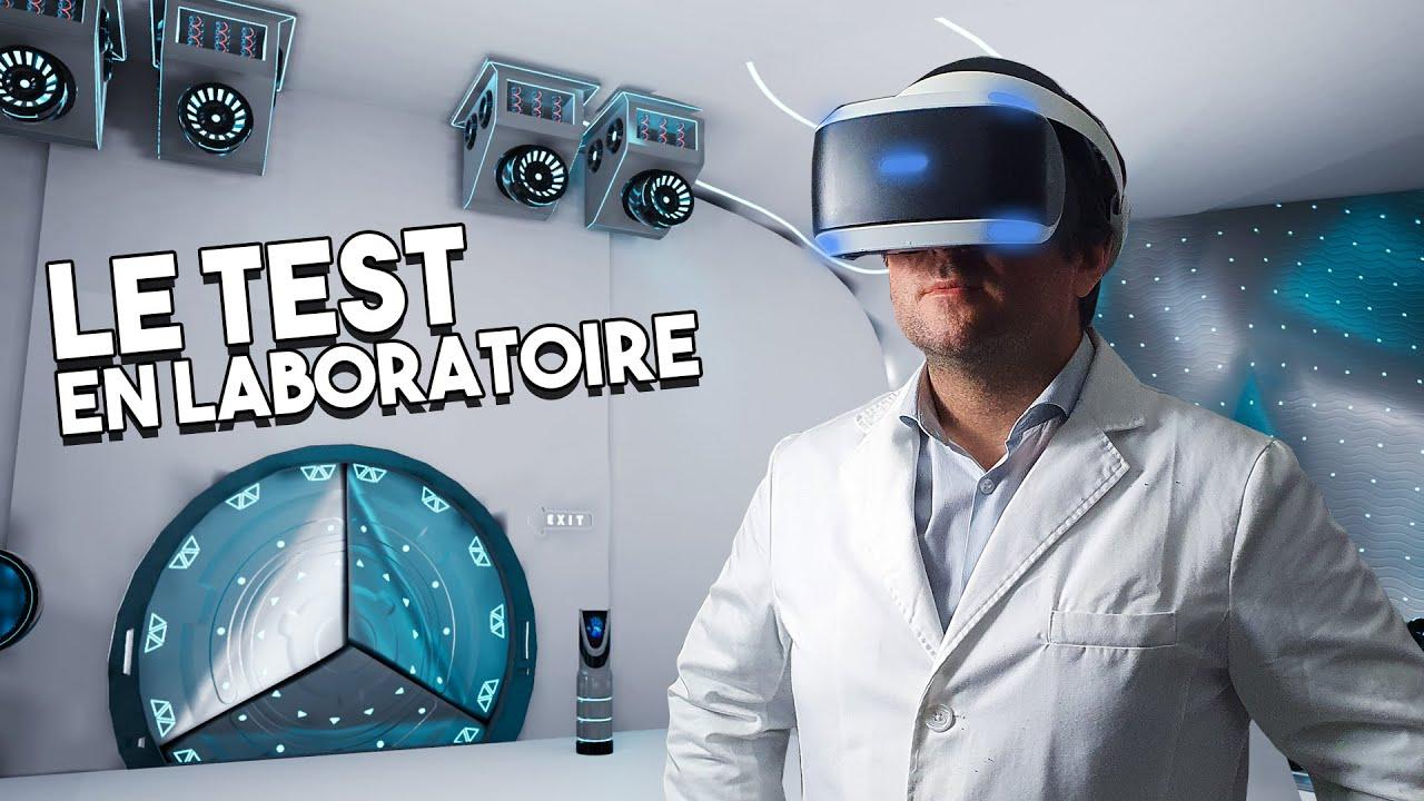 Le PSVR au Lab ! L'improbable et SURPRENANT TEST après 5 ans !! #PlayStationVR