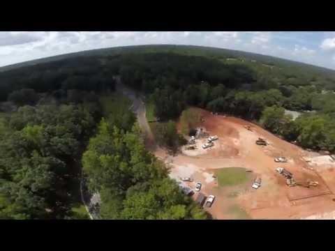 Trinity Building Construction - Drone Flyover