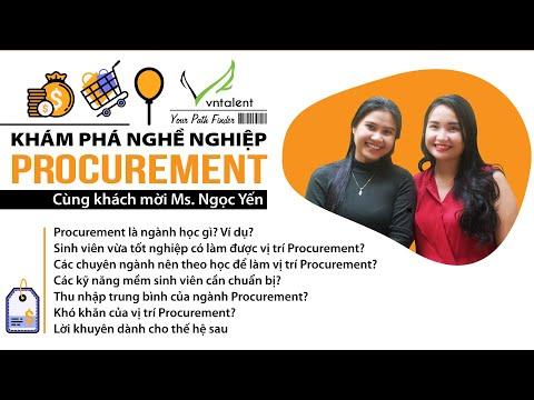 Tập 2 - CwP: Tìm hiểu về ngành Procurement| Procurement là gì?| Mức lương Procurement là bao nhiêu?