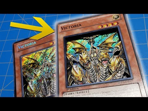 I turned a regular YuGiOh card in to an EPIC 3d card! | Custom YuGiOh 3d Shadowbox Art Card