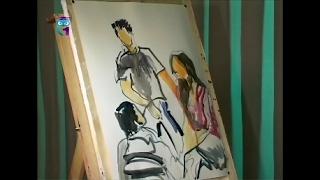 Уроки живописи # 24. Рисуем групповой портрет